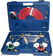 Oxygen And Acetylene Welding Kit Victor Type Cutting Torch Burner Soldering