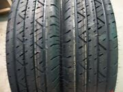 Two St175/80r13 6 Ply Trailer, Boat, Utility Radial Tubeless Load Range C Tires