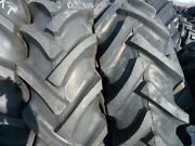 Ford-new Holland Tractor Tires 2 16.9x30 W/tubes And 2 650x16 3 Rib W/tubes