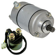 Starter And Relay Solenoid For Honda Trx350 Trx 350 Fourtrax Rancher 2000-2006