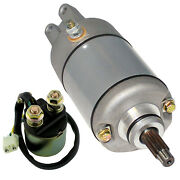 Starter And Relay Solenoid For Honda Trx400 Trx 400 Fourtrax Foreman 1995-2003