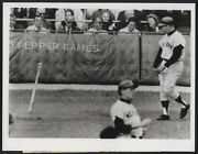 1964 Orig Baseball World Series Wire Photo - A Poor Beginning Mickey Mantle