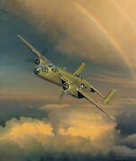 Westbound A Date With The General Phillips Doolittle Raiders Canvas W/8 Sigs