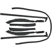 1959-1960 Buick Cadillac Oldsmobile Convertible Roof Rail Weatherstrip Set