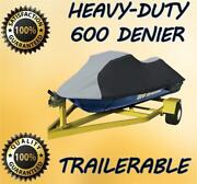 Top Of The Line Yamaha Wave Raider Deluxe Jet Ski Pwc Cover 94 95 96 97 2 Seater