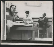 1961 Orig Baseball Wire Photo - Willie Mays And Wife In Court