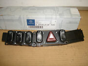 Mercedes S Class W220 Chassis Hazard Switch Pack Left Hand Drive 2208214158