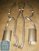 1967 Pontiac Gto Ram Air Exhaust System Complete With Pipes And Mufflers