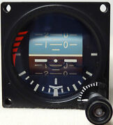 New Standby 2-1/4 Lighted Electrical Artificial Horizon