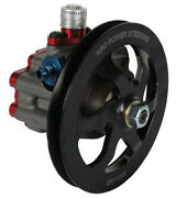 New Krc Pro Series Aluminum Power Steering Pump With V-belt Pulley,racing