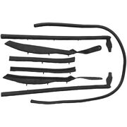 Roof Rail Seal Kit Compatible With 1961-1964 Buick Cadillac Olds Convertibles