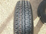 Two St175/80r13 6 Ply Boat, Utility Trailer Tires Load Range C