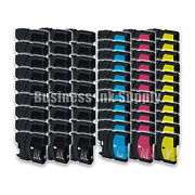 60 Pk New Lc61 Ink Cartridge For Brother Printer Mfc-490cw Mfc-j415w Mfc-j615w
