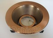 4 Inch Recessed Light Copper Trim Baffle Mr16 12v Fit Halo Juno Low Voltage Can