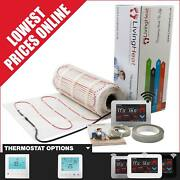 Underfloor Heating Mats 200w With Thermostat Option For Under Tile Floor Heating