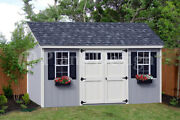 8and039 X 16and039 Utility Garden Storage Deluxe Shed Plans Lean-to Roof Style D0816l