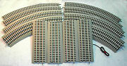 Lionel Fastrack 50 X 90 Oval O48 12-o48 Curve, 7-10 Straight And 1-terinal Track