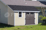 10and039 X 12and039 Classic Storage Shed Plans Lean To D1012l Material List Included