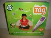 Leap Frog Tag Reading System 4 Book Cat In The Hat Princess And The Frog Bakugan