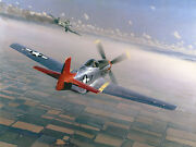 Two Down, One To Go William S. Phillips Lucky Lester Tuskegee Airmen Canvas
