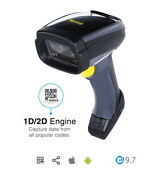 Wasp Wws750 Freedom Cordless Bluetooth 2d Barcode Scanner Usb Kit New