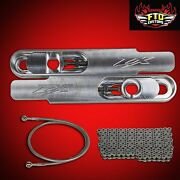 2000 Zx9r 12 Swingarm Extensions 36 Brake Line 525 Chain Zx-9r Extension