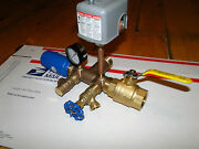 1.25 X 4 Pressure Tank Tee Installation Kit Water Well Square D 40 60 + Valves