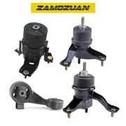 Engine And Trans Mount 4pcs - Hydraulic 2002-2006 For Toyota Camry 3.0l For Auto.