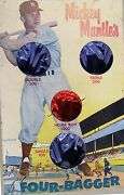 Mickey Mantle's Four Bagger Ball Toss Game, 1950's