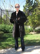 Mink Fur Coat Fits Size 8 To 10 Luxury Garment Owned By Actress Luciana Paluzzi