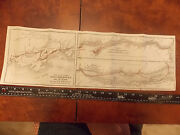 1900 Richelieu And Ontario Navigation Steamboat Canada Quebec Cpr Newfoundland Map