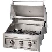 Sunstone Grills 28 Inch 3 Burner Built-in Gas Grill Natural Or Propane