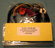 C71 1971 Ford Mercury Cougar Xr7 Alternator Wiring Harness With Amp Meter