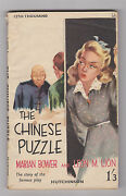Vintage Uk Pb.crime Thriller.the Chinese Puzzle.nice Cover Art