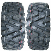 2 25x10r12 25x10-12 25x10.00r-12 25x10.00-12 Duro Di2025 Power Grip Atv Tires