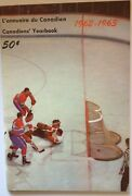 1962-63 Montreal Canadiens Media Guide