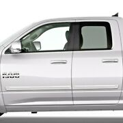 Painted Body Side Moldings With Chrome Trim Insert For Ram Quad Cab 2009-2018