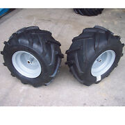 18x9.50-8 Tires Rims Wheels Assembly Garden Tractor Riding Mower 3/4 Shaft P28
