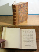 A Voyage Around The World Anson George 1748 - First Edition First Printing
