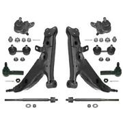 Fits 93-95 Toyota Corolla With Power Steering Lower Control Arms Tie Rods Links