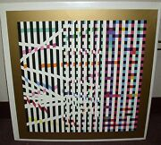Majestic - Agam - Original Silkscreen - Colorfull - Artist Is From Israel