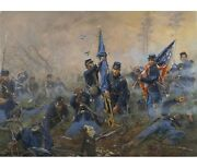 Three Medals Of Honor-battle Of New Market Heights Don Troiani Civil War Print
