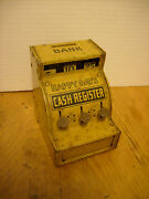 Antique J. Chein And Co Happy Days Tin Toy Cash Register Bank