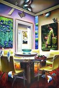 Victorian Delight By Ferjo - Limited Edition Giclee On Canvas