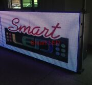 2-sided Outdoor Full Color Led Sign 5x10 120l X 60h P10 Programmable W/ Wifi