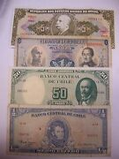 4 Assorted South America Notes Great