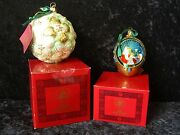 Kurt S. Adler Polonaise Vatican Library Lily Ornament And Madonna And Child New