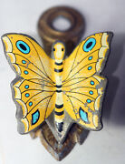 Rare Antiquevery Pretty Butterfly Clampsewing Figural