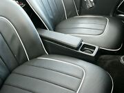 Tr3 And Tr4 Center Console Leather Armrest Storage Cup Holder Triumph Accessory