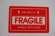 F2 2x3 Fragile Stickers With This Side Up Self Adhesive Labels Handle W Ith Care
